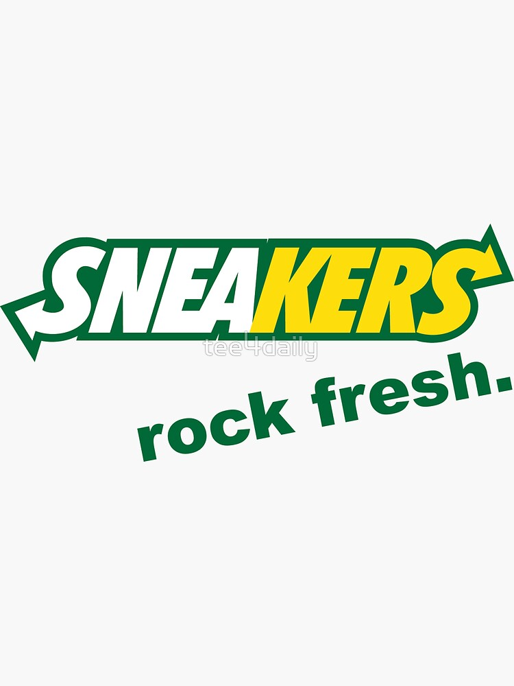Sneakers Rock Fresh by tee4daily