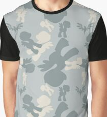Brony Military Air Force Camo Graphic T-Shirt