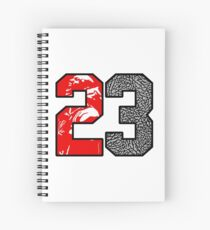 23 Cement Spiral Notebook