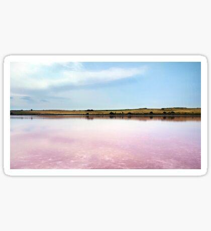 Pink Lake Sticker