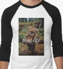 Ewok Thug Life Men's Baseball ¾ T-Shirt