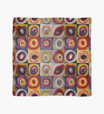 reproduced to Kandinsky colored circles  Scarf