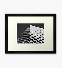 BnW Architecture Framed Print
