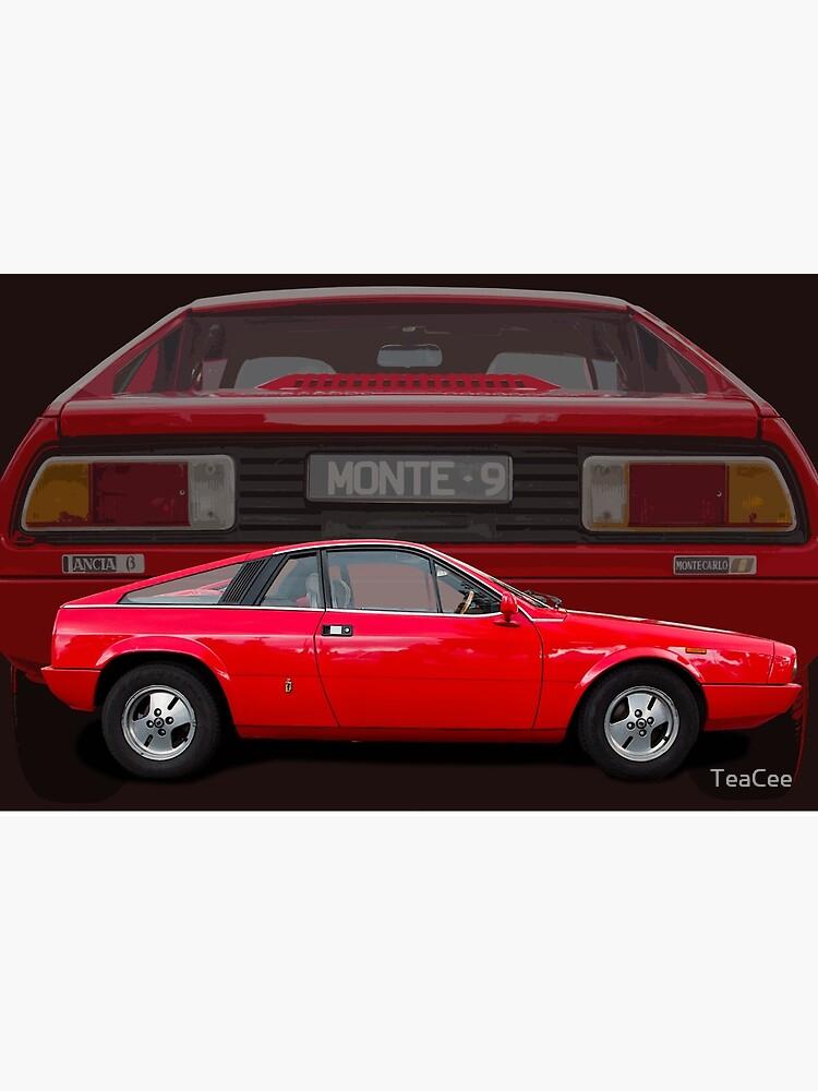 U0026quot Lancia Beta Monte Carlo U0026quot  Poster By Teacee