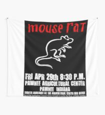 Mouse Rat Concert Poster Wall Tapestry