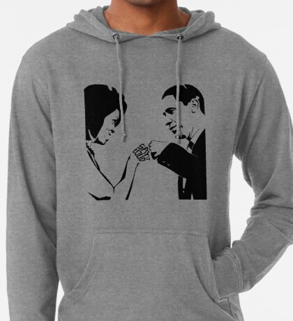 SAY IT LOUD: Obama Fist Bump Lightweight Hoodie