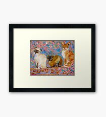 The Power of Three Framed Print
