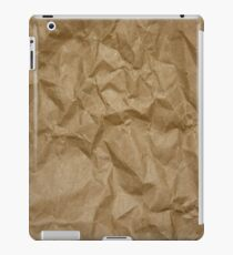 BROWN PAPER iPad Case/Skin