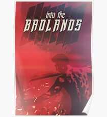 Into The Badlands, red. Poster