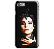 The Evil Queen - Black is my color iPhone Case/Skin