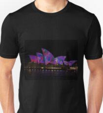 Opera House, Vivid Festival, Sydney, Australia 2010 Unisex T-Shirt