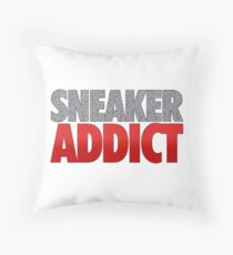 Sneaker Addict - Speckled Throw Pillow