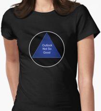 magic 8 ball Women s Fitted T-Shirt 6885c85d58