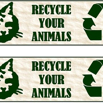 Recycle Your Animals - Fight Club by koodburg