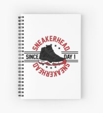 Sneakerhead - Since Day 1 Spiral Notebook