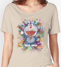 Doraemon Full Colors  Women's Relaxed Fit T-Shirt