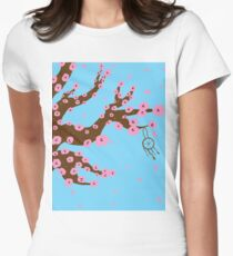Cherry Blossoms Women's Fitted T-Shirt