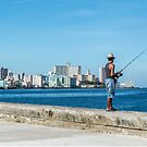 Fishing in Cuba by Lisa  Kenny