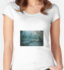 Mystical Forest - Blackwood River, Nannup, WA Fitted Scoop T-Shirt
