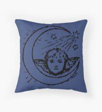 Victorian cherub Throw Pillow