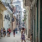 Street Life in Cuba by Lisa  Kenny