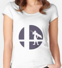 Cloud - Super Smash Bros. Women's Fitted Scoop T-Shirt