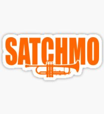 Louis Armstrong - Satchmo Sticker