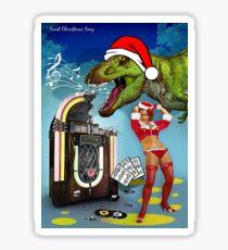 Jurassic Christmas Song Sticker