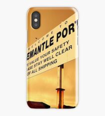 Welcome To Fremantle iPhone Case