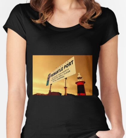 Welcome To Fremantle Women's Fitted Scoop T-Shirt