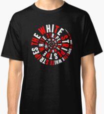 White Stripes Whirlpool Classic T-Shirt