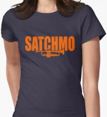 Louis Armstrong - Satchmo Womens Fitted T-Shirt