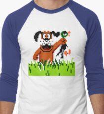 """Retro Retriever"" Duck Hunt Men's Baseball ¾ T-Shirt"