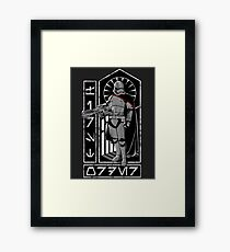 The Captain (Alternate) Framed Print