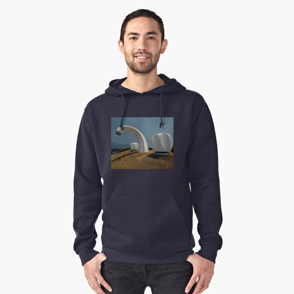 Big Tap @ Sculptures By The Sea, Australia 2011 Pullover Hoodie Front