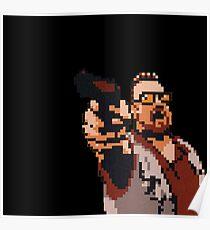 John Goodman 8-bit Poster