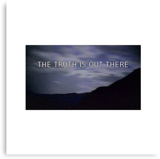 """""""the truth is out there"""" - the x-files  by unblurryface"""
