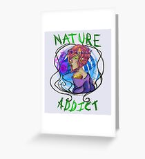 Nature Is My Only Solace Greeting Card