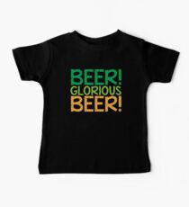 BEER GLORIOUS BEER! Kids Clothes