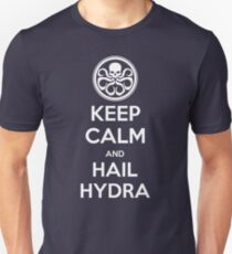 KEEP CALM and HAIL HYDRA Unisex T-Shirt