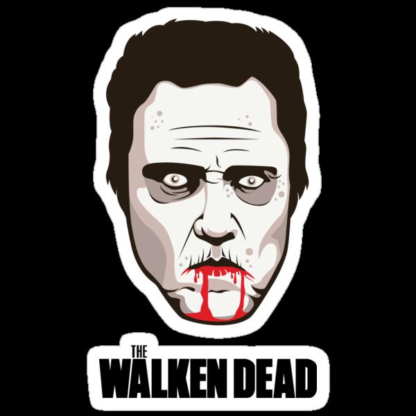 "Christopher Walken - ""The Walken Dead"" Official by FacesOfAwesome"