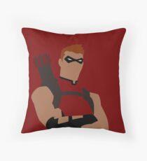 Roy Harper Minimalism Throw Pillow