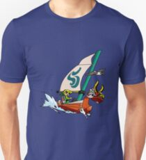 """Cell shaded """"The Wind Waker"""" Slim Fit T-Shirt"""