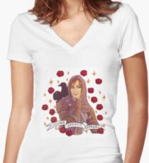 Leliana Approval - Dragon Age Women's Fitted V-Neck T-Shirt