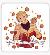 Sera Approval - Dragon Age Sticker