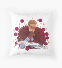 Cullen Approval - Dragon Age Throw Pillow