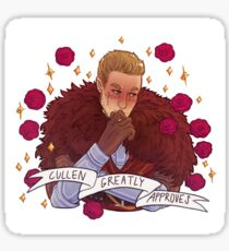 Cullen Approval - Dragon Age Sticker