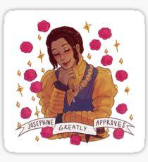 Josephine Approval - Dragon Age Sticker