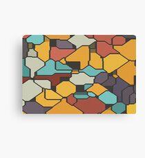 Colorful pieces Canvas Print