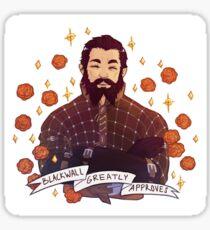 Blackwall Approval - Dragon Age Sticker